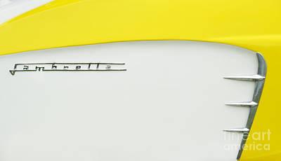 Lambretta Yellow  Poster by Tim Gainey