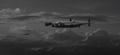 Lancaster - No More............. Poster by Pat Speirs