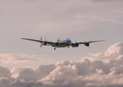 Lancaster - Summer Dawn Poster by Pat Speirs
