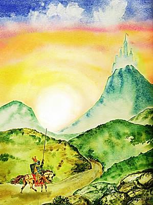 Lancelot Poster by Hartmut Jager