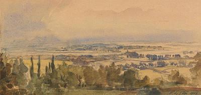 Landscape, 1909 Poster by Philip Wilson Steer