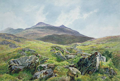 Landscape Snowdon Poster by Frederick William Hayes