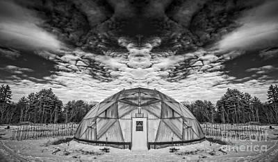 Landscape Surreal Poster by Edward Fielding