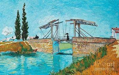 Langlois Bridge At Arles Poster by Vincent van Gogh