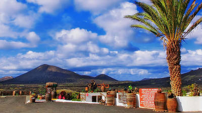 Lanzarote Panorama Poster by Mountain Dreams