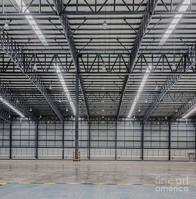 Large Modern Storehouse  Poster by Anek Suwannaphoom