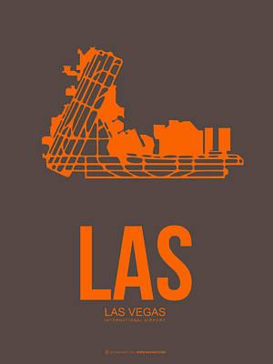 Las Las Vegas Airport Poster 1 Poster by Naxart Studio