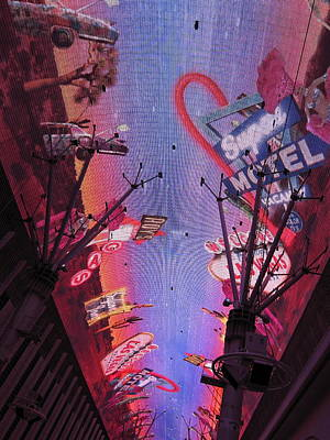 Las Vegas - Fremont Street Experience - 121213 Poster by DC Photographer