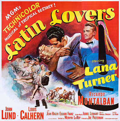 Latin Lovers, Us Poster Art Poster by Everett