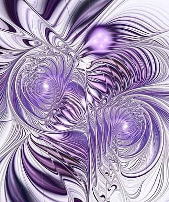 Lavender Elegance Poster by Anastasiya Malakhova