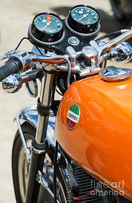 Laverda Jota Motorcycle Poster by Tim Gainey