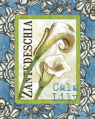 Lazy Daisy Lily 1 Poster by Debbie DeWitt