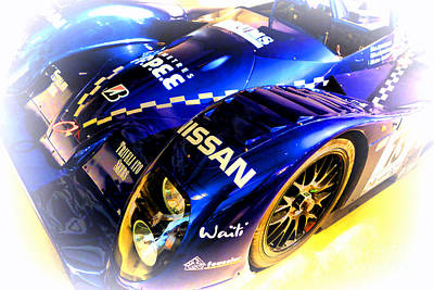 Le Mans 1999 Courage Nissan C52 Poster by Olivier Le Queinec