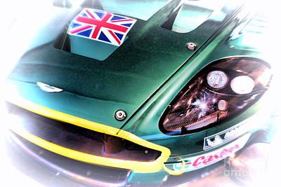 Le Mans 2005 Aston Martin Drb 9 Gt Poster by Olivier Le Queinec