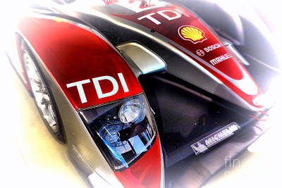 Le Mans 2008 Audi R10 Tdi Poster by Olivier Le Queinec