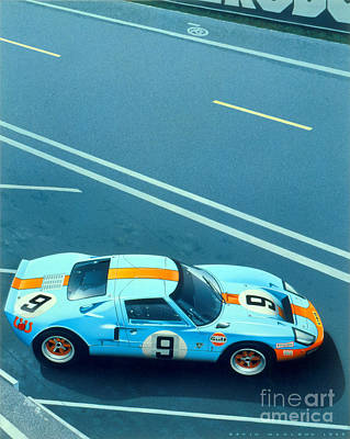 Le Mans 68 Poster by MGL Meiklejohn Graphics Licensing
