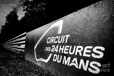 Le Mans Poster by Olivier Le Queinec