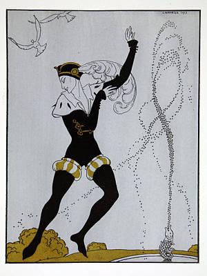 Le Pavillion D'armider Poster by Georges Barbier
