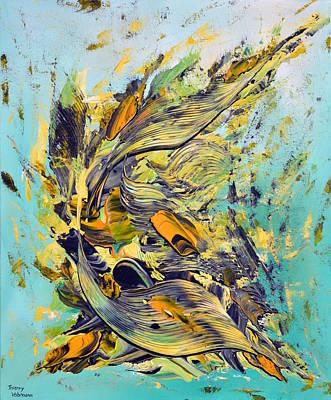 Le Temps Des Moissons Poster by Thierry Vobmann