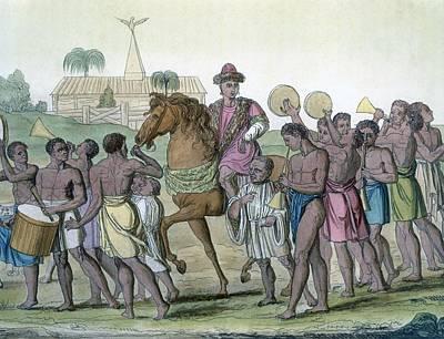 Leader On Horseback, 1812-13 Poster by E. Karnejeff