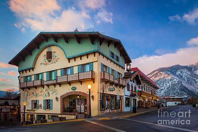 Leavenworth Alps Poster by Inge Johnsson