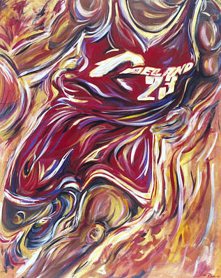 Lebron Guess Who Series Poster by Redlime Art