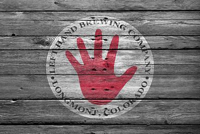 Left Hand Brewery Poster by Joe Hamilton