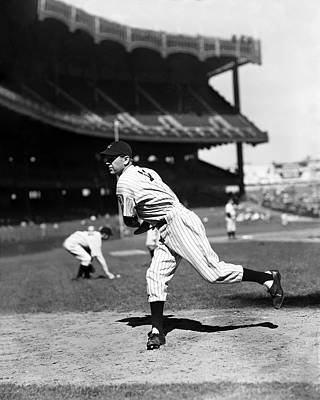 Lefty Gomez Working Off Mound Poster by Retro Images Archive