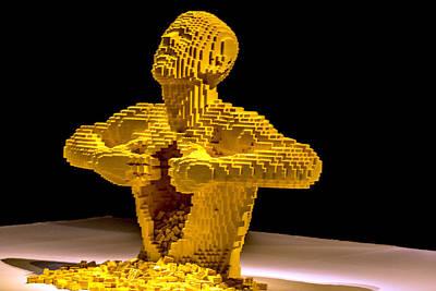 Lego Art Poster by Jijo George