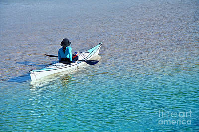 Leisure On The Lake Poster by Kaye Menner