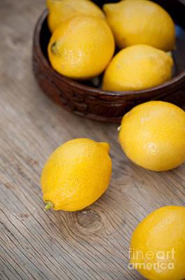 Lemons Poster by Viktor Pravdica