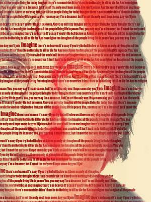 Lennon  Poster by Mark Ashkenazi