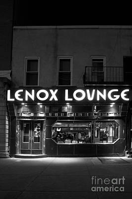 Lenox Lounge_175 Poster by Andria Patino