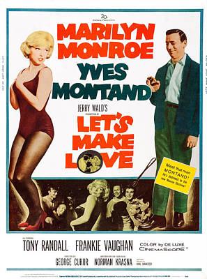 Lets Make Love, Us Poster, Art Poster by Everett