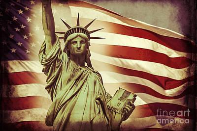 Liberty Poster by Az Jackson