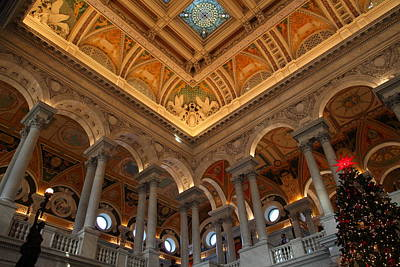 Library Of Congress - Washington Dc - 011314 Poster by DC Photographer