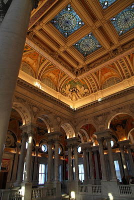Library Of Congress - Washington Dc - 011321 Poster by DC Photographer
