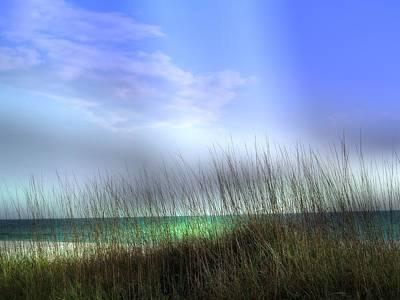 Lido Beach Poster by Athala Carole Bruckner