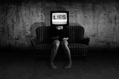 Lies Poster by Nicklas Gustafsson