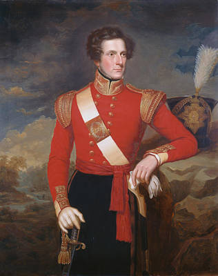 Lieutenant Robert Hay C.1838 Poster by English School