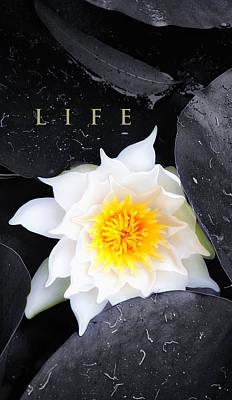 Life Poster by Ron Regalado