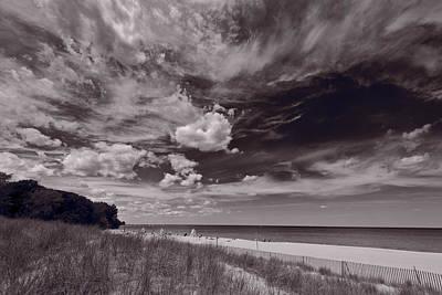 Lighthouse Beach Evanston Il Poster by Steve Gadomski