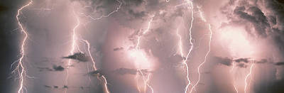 Lightning, Thunderstorm, Weather, Sky Poster by Panoramic Images