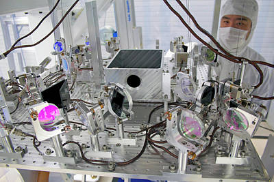 Ligo Gravitational Wave Detector Optics Poster by Caltech/mit/ligo Lab
