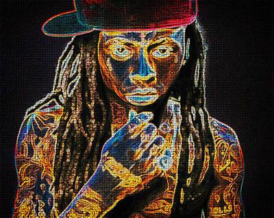 Lil Wayne Poster by Mountain Dreams