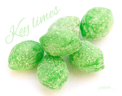 Lime Candy Poster by Iris Richardson