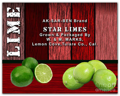Lime Farm Poster by Marvin Blaine