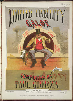 Limited Liability Galop Poster by British Library