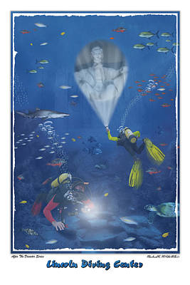 Lincoln Diving Center Poster by Mike McGlothlen