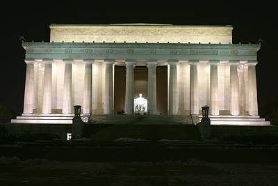 Lincoln Memorial Poster by Andrew Johnson